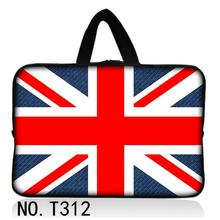 "Cool Union Jack 9.7"" 10.1"" 11.6"" 12"" 13"" 13.3"" 14.1"" 15"" 15.6"" Laptop Notebook Carry Sleeve For HP/DELL/SUMSUNG/SONY(China)"