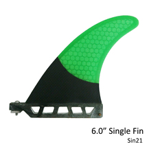 "Surfboard Longboard Fins Single Fin 6"" Surf Fin Surfboard Fin 6 Length"
