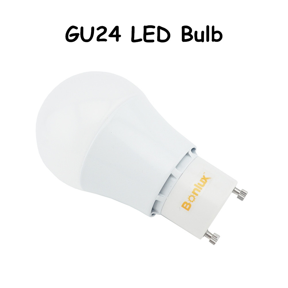 GU24 LED Bulb A19 Shape 5W 9W A60 Household Light with Extruded Aluminum Heatsink 60W Halogen Bulb Replacement<br><br>Aliexpress