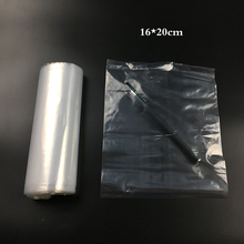 16x20cm 7dmm PE High Pressure Flat Bag LDPE Pocket Transparent Flat Pocket  Plastic Bag Storage Bags Family Daily Necessities