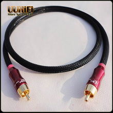 Hifi 75 Ohms Male to Male Digital Coaxial RCA Audio/Video DIY Cable(China)