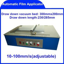 Free Shipping Automatic Film Applicator (Coater) coaters application applicators  10-100mm/s  Draw down length:230/285mm