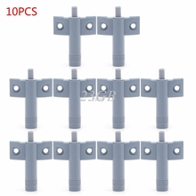 Closer Damper Buffers+Screws 10PCS/SET Kitchen Cabinet Door Drawer Soft Quiet Close MAY15_30(China)