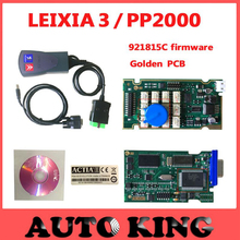 Fast Free shipping Lexia 3 PP2000 Lexia-3 V48 PP2000 V25 Diagbox Lexia3 PP2000 Diagnostic Tool For Ci-troen For Pe-ugeot
