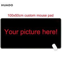 Custom Large mouse pad 1000x500mm speed world map Keyboard Mat Desk Mat for game player(China)
