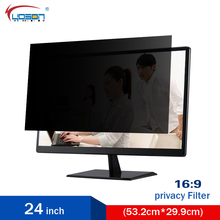 Privacy Filter for 24 Inch Widescreen Laptop (PF24W9) LCD Monitor Privacy Screen (16:9) Free Shipping Low Price AliExpress(China)