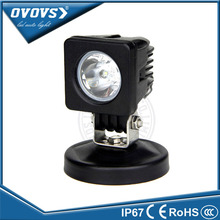 Mini truck light factory price wholesale led light 12v 2 inch 10w led work light for offroad ATV SUV truck