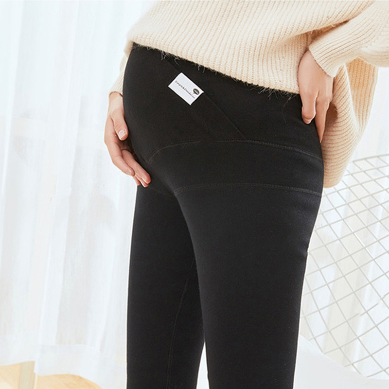 New Arrival Winter Warm Pregnant Women Leggings Trousers Maternity Leggings Maternity Warm Leggings Thickening Pregnancy Pants