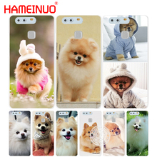 HAMEINUO dogs perro pomeranian puppy cute Cover phone Case for huawei Ascend P7 P8 P9 P10 lite plus G8 G7 honor 5C 2017(China)