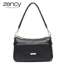 Buy 2017 Zency Famous Brand Genuine Leather Luxury Women Handbag Fashion Designer Ladies Shoulder Bag Tote Crossbody Messenger for $40.60 in AliExpress store
