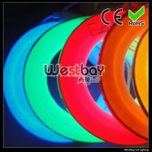 ultra white 24V led neon flex at 16*27mm, 216leds each meter, neon flex lights for DIY decoration(China)