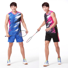 2016 KR Badminton Men's Jerseys , LEE Y D Badminton wear player suit  , Badminton clothes Men's V3052A