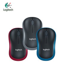 Logitech M186 2.4G Wireless Mouse with Ergonomic 1000dpi Nano Receiver Both Hands Laptop Gamer Official Verification Support