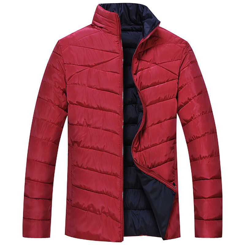 Large 7XL8XL new winter fashion casual stand-up collar men thick padded cotton jacket cotton jacket men free shippingОдежда и ак�е��уары<br><br><br>Aliexpress