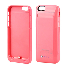 New Arrival 3500mAh Backup Battery External Power Bank Charger Case cover for iPhone 6 / 6S 4.7 inch battery phone cases