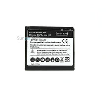 1600mAh BD26100 3.7VDC Replacement Li-ion Battery For HTC G10 Desire HD Surround T8788 T9188 T9199 A9191 Inspire 4G A9192
