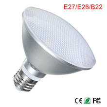 B22 Led Spot Lamp Par20 Par30 Par38 Led Bulb E27 AC85-265v Dimmable Led Spotlight Lighting Warm/Natural/Cold White Waterproof(China)