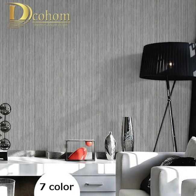 0.53m*10m Solid color Vertical Stripes Wallpaper Roll Modern Living room Decor Wall paper papel de parede 3d tapete R574<br><br>Aliexpress