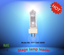 CHANGSHENG GCV 230V 500W GY9.5 halogen bulb lamp stage light(China)