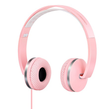 Fashion New Cute Headphones for Girls Kids Sports Headset Stereo Music Earphone with Micphone for iPhone Samsung Xiaomi Computer