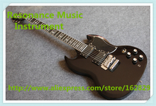 Hot Selling China Glossy Black Tony Lommi SG Electric Guitars With Chrome Floyd Rose Tremolo For Sale
