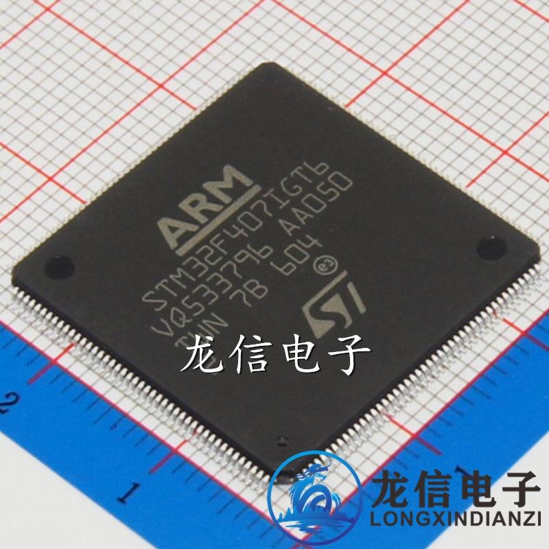 Authentic STM32F407IGT6 LQFP176 brand new 2PCS<br><br>Aliexpress