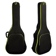 "40/41"" Thicken folk guitar cases Acoustic Guitar Double Straps Padded Guitar Soft Case Gig Bag Backpack High Quality Waterproof(China)"