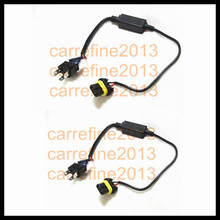Rockeybright car motorcycle bike H4 H/L 2pcs/lot Free shipping HID H4 Bi Xenon 35W 55W ballast relay wire harness