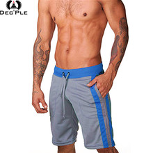 Brand fashion men's sportswear shorts breathable quick-drying short pants high quality 100% polyester casual new shorts men(China)