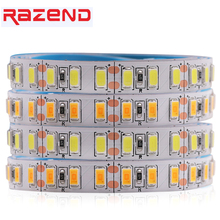 Super Bright 5730 led strip 1M 5M Epistar Chip 120leds/m Flexible Led tape light 5630 cold white/warm white/Neutral white 12V(China)