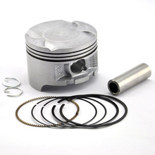 Motorcycle Engine Parts Cylinder Piston Kit with Pin Rings Set for Honda NX250 NX 250 AX-1 AX1 KW3 STD Standard Bore Size 70mm