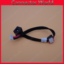 Laptop DC JACK with cable for Toshiba Satellite AC DC POWER JACK HARNESS CABLE PLUG IN SOCKET(China)