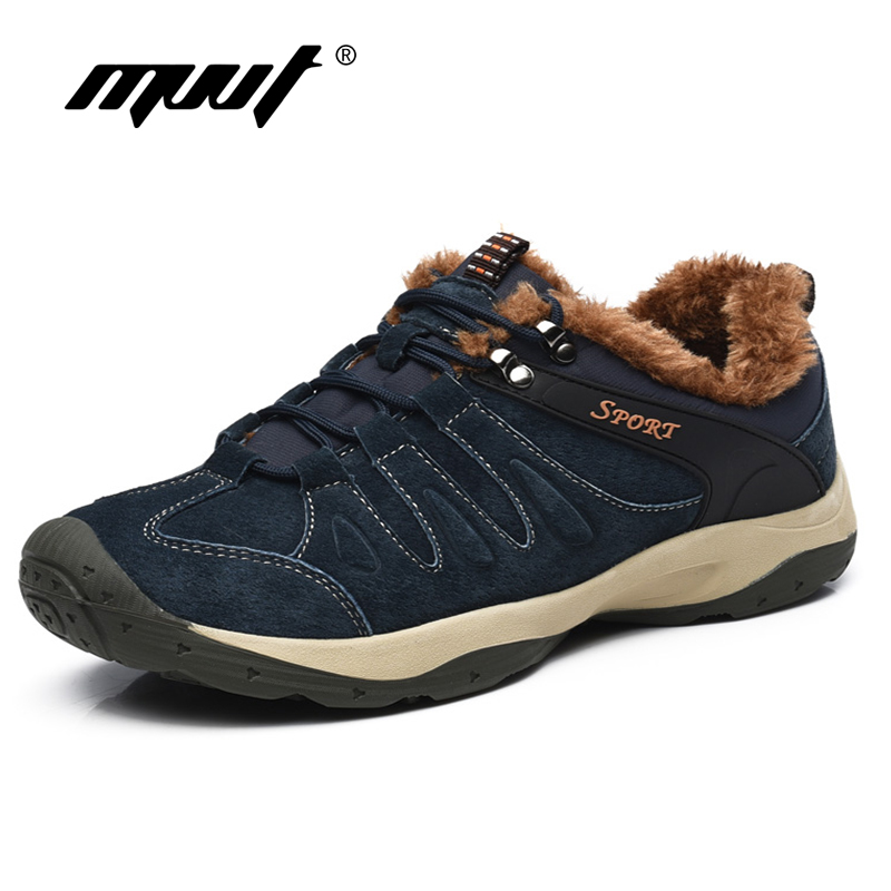 Autumn and Winter Men Casual Shoes Lace Up Breathable Comfortable Men Shoes Suede leather Outdoor men Zapatos Hombre<br>
