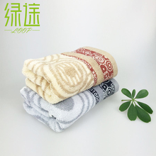 China famous brand face towel luxury home and hotel towels quick-drying adult patterned towels quality cotton towel