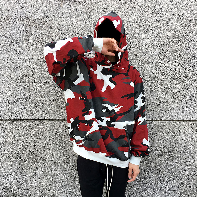 Camouflage Pullover Hoodies 1