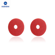 100Pcs M2 M2.5 M3 M4 M5 M6 M8 Steel Flat Pad Insulation Washers Red Paper Meson Gasket Spacer Insulating Spacers HW050