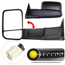 Eccpp Power Heated Towing Mirrors Two Side View Mirror Left + Right Pair Set For 1998 1999 2000 2001 Dodge Ram 1500 2500 3500(China)