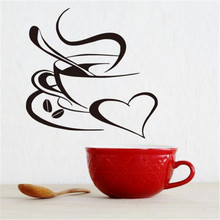 Coffee Is Always A Good Idea Wall Decals Vinyl Stickers Home Decoration Wall Art Wall Kitchen Wall Sticker Quote(China)