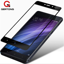 GerTong Full Cover Tempered Glass For Xiaomi Mi A1 Redmi 5 Plus 4X 5A Redmi 5 Note 4 Pro Note 4X Screen Protector Toughened Film(China)