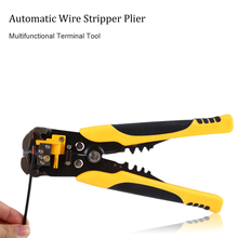 Automatic Wire Stripper Adjustable Cable Wire Stripper Crimping Plier Peeling Pliers Multi Repair Terminal Tool 22-10AWG(China)