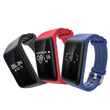 Buy Fitness Tracker Passometer Smart Bracelet Heart Rate Monitor IP68 Waterproof Wristband OLED Screen Smart Band Android IOS for $14.69 in AliExpress store