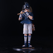 Anime NARUTO pvc action figure 26cm Uchiha Sasuke flute Ver. PVC Action Figure Collectible kids Model Toy doll brinquedos hot