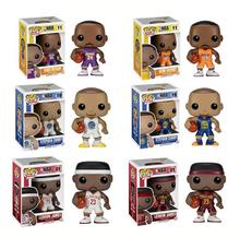 "funko POP Basketball NBA Star KOBE BRYANT STEPHEN CURRY LEBRON JAMES PVC Action Figure Model Collection Toy Doll 4"" 10CM"