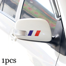 1pcs New style car sticker France 3D Epoxy Decorative Badge car body for Renault citroen Peugeot Great Wall BYD Volv Car Emblem