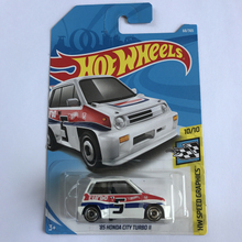 New Arrivals 2018 8c Hot Wheels 1:64 85 honda city turbo II Car Models Collection Kids Toys Vehicle For Children hot cars(China)