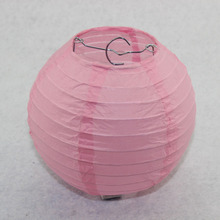 10 inch 25CM Round Chinese Paper Lanterns Wedding Party Decor Lamp Light Blue White Pink Purple 10pcs/lot