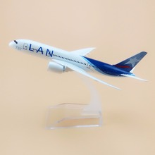 15cm Alloy Metal Air Chile LAN Airlines Plane Model Boeing 787 B787 CC-BBA Airplane Model with Stand  Gift