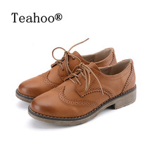 FLAT Oxford Shoes Woman Autumn Flats 2017 Fashion Brogue Oxford Women Shoes moccasins sapatos femininos sapatilhas zapatos mujer