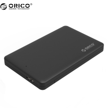 "ORICO 2577U3 2.5"" USB 3.0 SATA HDD Box HDD Hard Disk Drive External HDD Enclosure Black Case"