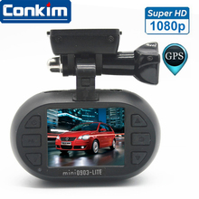 Car DVR Auto Digital Camera Novatek 96650 1080P 30fps Car GPS Black Box Super Capacitor Low Voltage Protection Mini 0903 Q-Lite